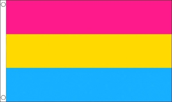 Pansexuell Fahne 150 x 240