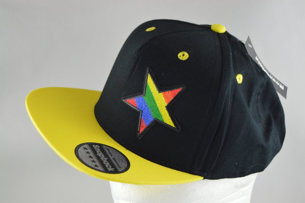 Pride Cap Star in Gelb